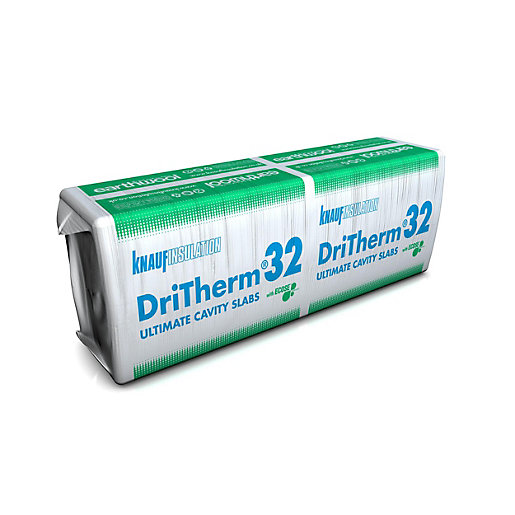 Wall Insulation Product : Knauf earthwool dritherm ultimate cavity insulation
