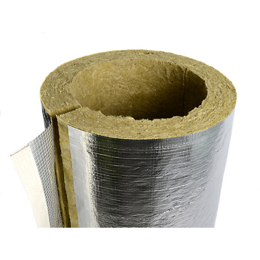 Rockwool Heating And Ventilation Pipe Insulation 60mm Bore
