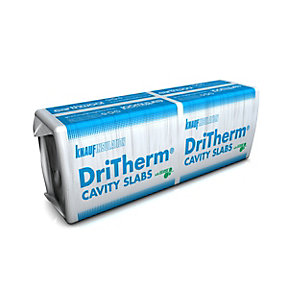 Knauf Earthwool Dritherm 34 Ultimate 75mm x 1200mm x 455mm