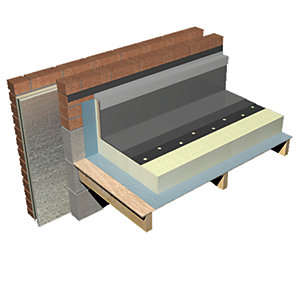 Celotex Insulation Crown Up Flat Roof Board UP0000 1200mm x 600mm 100mm - 150mm
