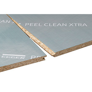 Egger Chipboard Peelclean XTRA Tongue and Grooved 4 Sides 22mm x 2400mm x 600mm