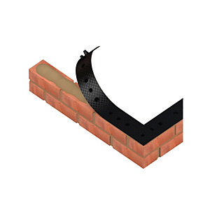 Bricloc Studded Damp Proof Course DPC 215mm x 8100mm