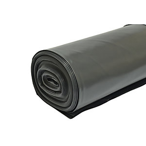 Visqueen Polythene DPM Damp Proof Membrane Black 300mU 4m x 25m