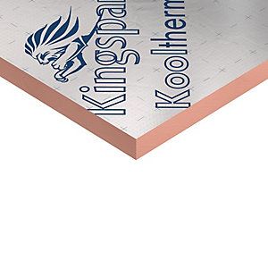 Kingspan Kooltherm K107 Pitched Roof Board 75mm 2400mm x 1200mm