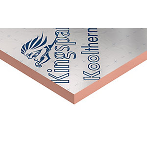 Kingspan Kooltherm K7 Pitched Roof Insulation Board 2400mm x 1200mm