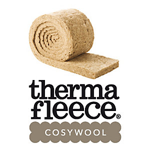Thermafleece Cosywool 75mm Natural Sheeps Wool Insulation 570mm Split
