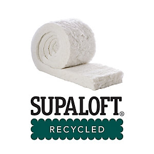Thermafleece SupaLoft 100mm Recycled Insulation Roll 370mm Split x 6500mm