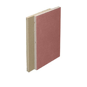British Gypsum Gyproc Fireline 12.5mm Tapered Edge Plasterboard 2400mm x 1200mm