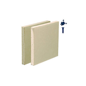 British Gypsum Habito 12.5mm Tapered Edge Plasterboard 2500mm x 1200mm