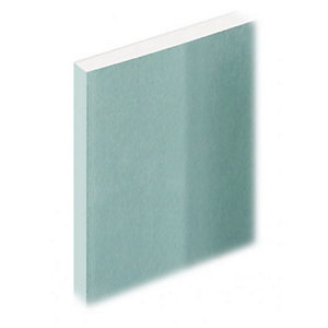 Knauf Plasterboard Moisture Panel 12.5mm Tapered Edge 3000mm x 1200mm