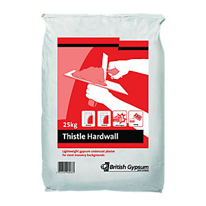 British Gypsum Hardwall Plaster 25KG