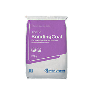 British Gypsum Thistle Carlite Bonding Coat Plaster 25KG