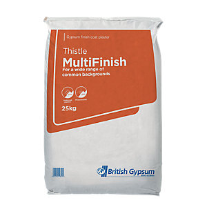 British Gypsum Thistle Multi-Finish Plaster 25Kg