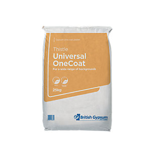British Gypsum Thistle Universal One Coat Plaster 25kg