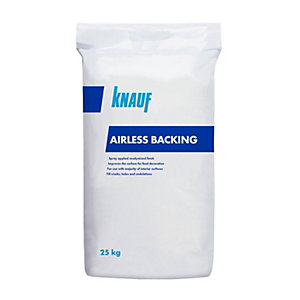 Knauf Airless Backing Spray Plaster 21kg