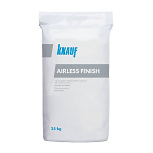Knauf Airless Finish Spray Plaster 25kg
