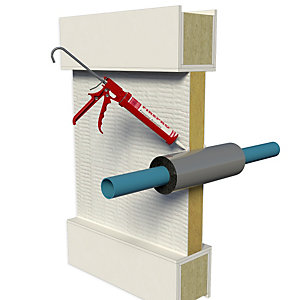 Fire protection accessories rockwool fire barrier fire for Rockwool fire rating