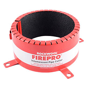 Rockwool Intumescent Fire Collar