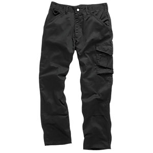 Scruffs Black Worker Trouser