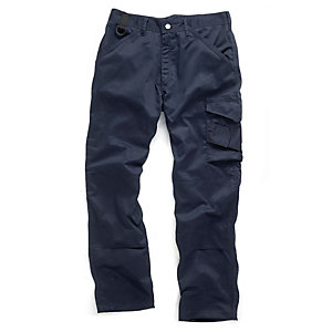 Scruffs Navy Worker Trouser