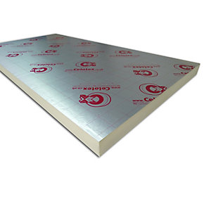 Celotex Insulation GA3075 Board 75mm 2400mm x 1200mm