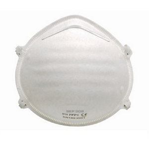 4Trade Respirator Cup Dust Mask FFP1 Pack of 2