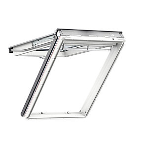 VELUX White Polyurethane 780mm x 1180mm Top Hung GPUMK06