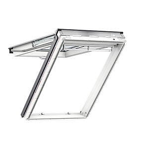 VELUX White Polyurethane 940mm x 1600mm Top Hung GPUPK10